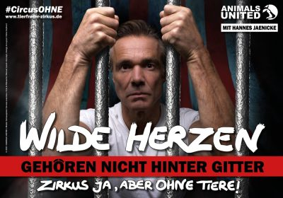 AnimalsUnited_CircusOHNE_Hannes Jaenicke_quer_Vorschau
